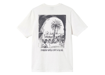 Stussy Spot In The Sun Dyed Tee Natural (SS21)の写真