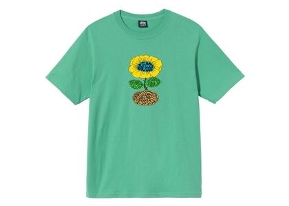 Stussy Sunflower Tee Green (SS21)の写真
