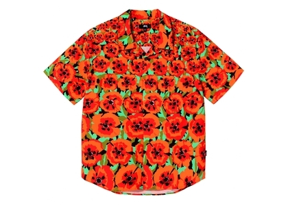 Stussy Poppy Shirt Orange (SS21)の写真