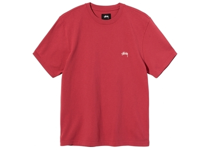 Stussy Overdyed SS Crew Red (SS21)の写真