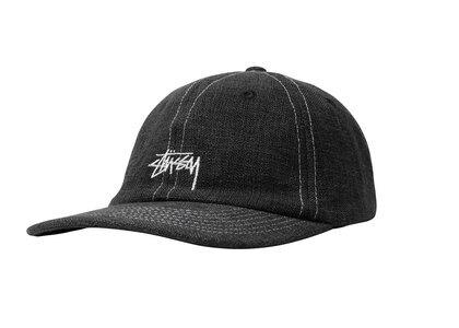 Stussy Loose Weave Stock Strapback Black (SS21)の写真