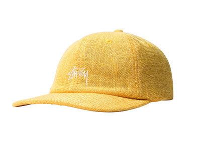 Stussy Loose Weave Stock Strapback Yellow (SS21)の写真