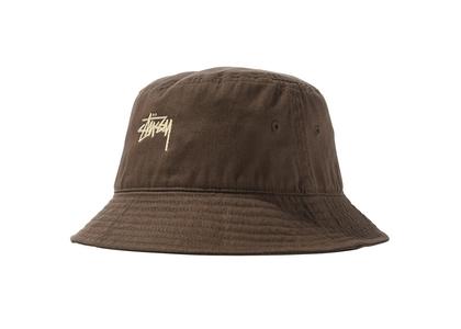 Stussy Stock Bucket Hat Coffee (SS21)の写真