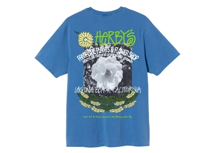 Stussy Herby's Dyed Tee Blue (SS21)の写真
