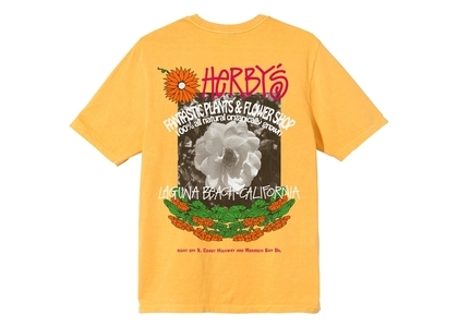 Stussy Herby's Dyed Tee Yellow (SS21)の写真