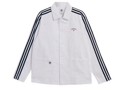 adidas × NOAH Floral Chore Jacket Whiteの写真
