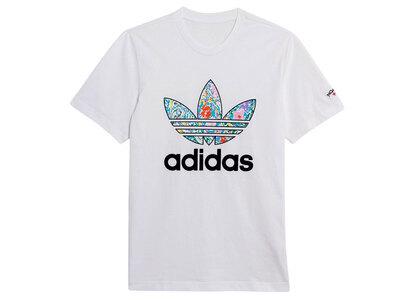 adidas × NOAH Floral Tshirt Whiteの写真