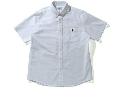 Bape Loose Fit S/S Shirt White (SS21)の写真