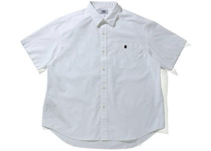 Bape One Point BD S/S Shirt White (SS21)の写真