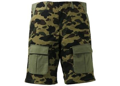 Bape 1st Camo Multi Pocket Shorts Green (SS21)の写真