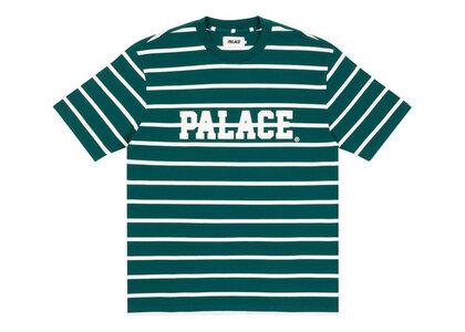 Palace Healthily Stripe T-Shirt Green / White (SS21)の写真