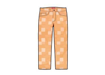 Supreme Patched Denim Painter Pant Yellow (SS21)の写真