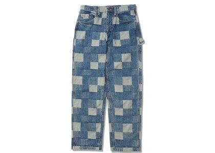 Supreme Patched Denim Painter Pant Blue (SS21)の写真