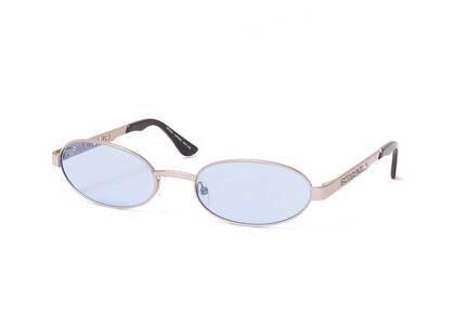 Supreme Brooks Sunglasses Silver / Blue (SS21)の写真