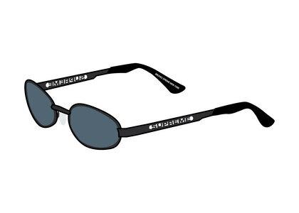 Supreme Brooks Sunglasses Black / Black (SS21)の写真
