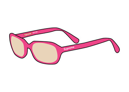 Supreme Vega Sunglasses Pink (SS21)の写真