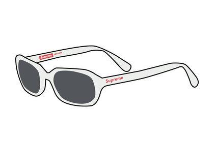 Supreme Vega Sunglasses  White(SS21)の写真