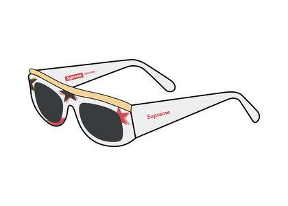 Supreme Goldtop Sunglasses Multi (SS21)の写真