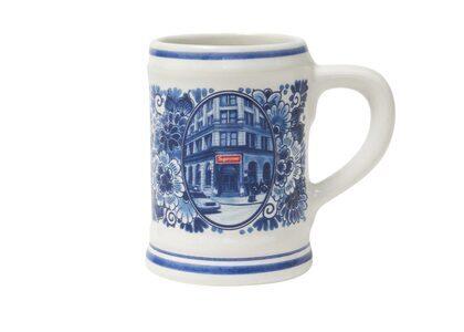 Supreme Royal Delft 190 Bowery Beer Mug White (SS21)の写真