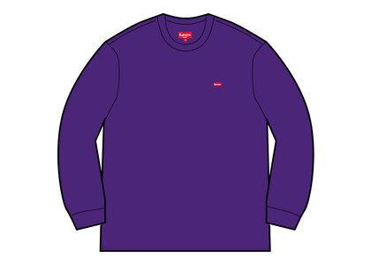 Supreme Small Box Crewneck Purple  (SS21)の写真
