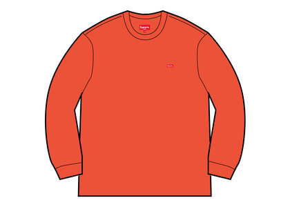 Supreme Small Box Crewneck Orange (SS21)の写真