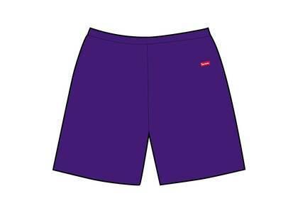 Supreme Small Box Sweatshort Purple (SS21)の写真
