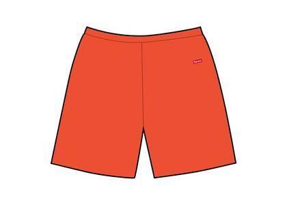 Supreme Small Box Sweatshort Orange (SS21)の写真