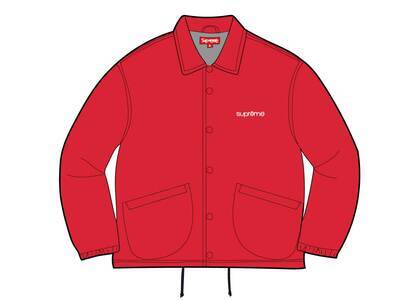 Supreme Five Boroughs Coaches Jacket Red (SS21)の写真