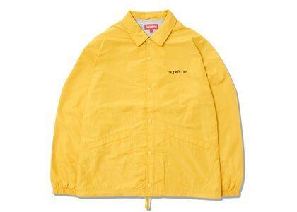 Supreme Five Boroughs Coaches Jacket Yellow (SS21)の写真