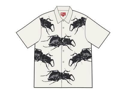 Supreme Beetle S/S Shirt White (SS21)の写真