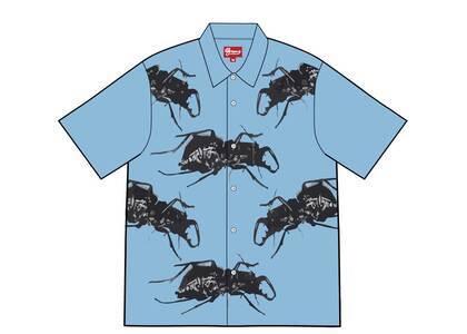 Supreme Beetle S/S Shirt Blue (SS21)の写真