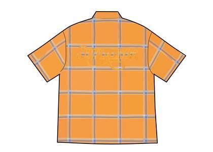 Supreme Lightweight Plaid S/S Shirt Yellow (SS21)の写真