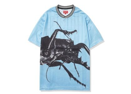 Supreme Beetle Soccer Top Blue (SS21)の写真