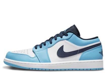 Nike Air Jordan 1 Low University Blue Whiteの写真