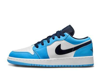 Nike Air Jordan 1 Low University Blue White GSの写真