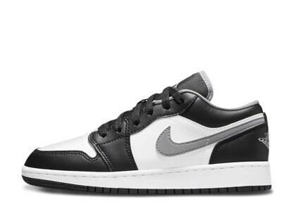 Nike Air Jordan 1 Low Black Medium Grey GSの写真