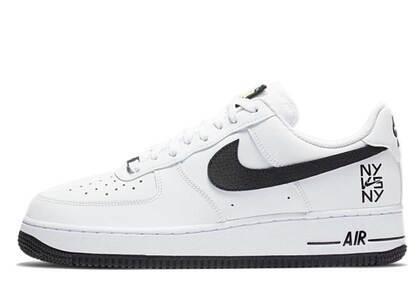 Nike Air Force 1 Low NY vs NY White Blackの写真