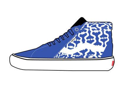 Supreme × Vans Monogram S Logo Skate Grosso Mid Blueの写真