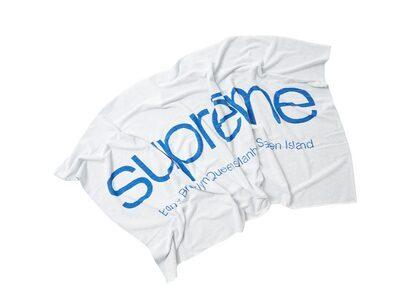 Supreme Five Boroughs Towel White (SS21)の写真
