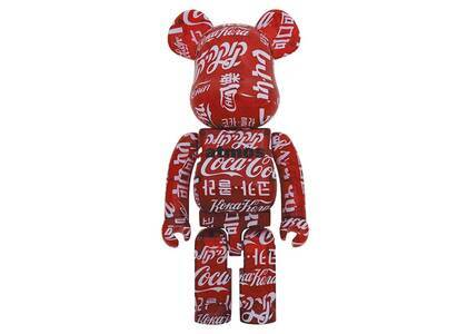Be@rbrick atmos × Coca-Cola Clear Red 1000%の写真