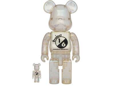 Be@rbrick Project 1/6 100% & 400% Clear Chrome Ver.の写真