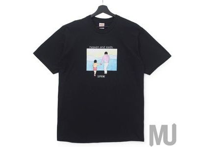 Supreme Heaven And Earth Tee Blackの写真