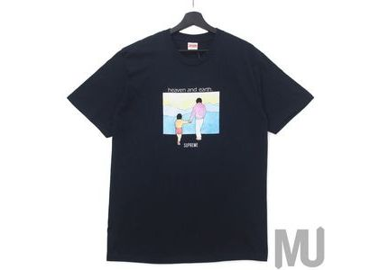 Supreme Heaven And Earth Tee Navyの写真
