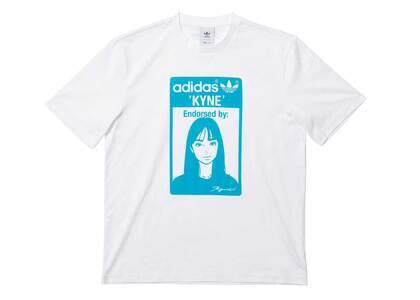 Kyne × adidas Originals Graphic Tee Whiteの写真