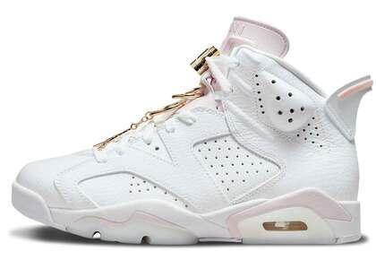 Nike Air Jordan 6 Gold Hoops Womensの写真