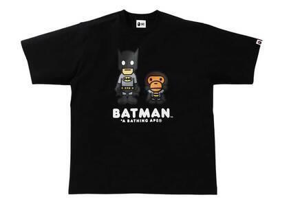 Bape × DC Baby Milo Batman Tee Black (SS21)の写真