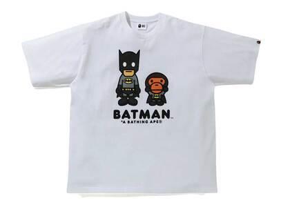 Bape × DC Baby Milo Batman Tee White (SS21)の写真