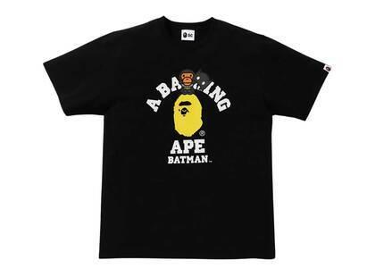 Bape × DC Baby Milo Batman College Tee Black (SS21)の写真