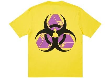 Palace Bio Hazard T-SHIRT Yellow (SS21)の写真