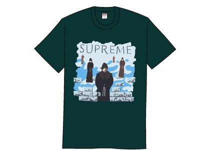 Supreme Levitation Tee Dark Greenの写真